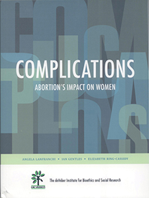Rigorously researched and scientifically documented, Complications: Abortion's Impact on Women examines the role of abortion in almost every aspect of women's health: depression, infertility, autoimmune disease, cancer, and intimate partner, violence, to name a few.