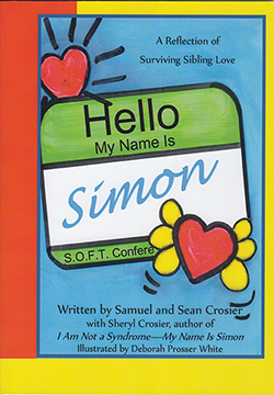 The special relationship that his brothers formed with Simon during his short time here on earth. The objective of this book is to communicate the beliefs of Simon's family. The Crosiers believe that each life created, beginning with conception, is sanctified by God and is precious in His sight.
