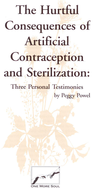 The Hurtful Consequences of Artificial Contraception and Sterilization contains true stories of couples who chose sterilization and later had sterilization reversals. Newly revised and updated.