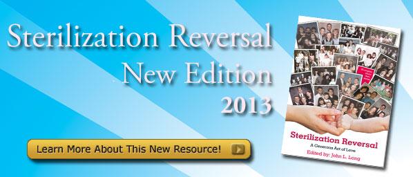 Sterilization Reversal Book 2013 Edition