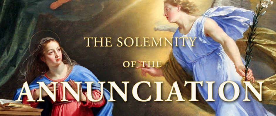 the solemnity of the annunciation  u00ab one more soul